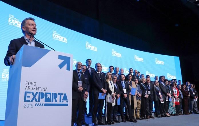 """Mauricio Macri: """"Durante años nuestro país le dio la espalda al mundo con cepos, trabas y mafias"""""""