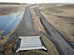 Ruta Nacional Nº 40 obra sin finalizar - Foto: OPI Santa Cruz/Francisco Muñoz
