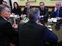 """Miguel Ángel Pichetto fue la """"estrella"""" de la reunión de gabinete en Casa Rosada"""