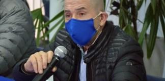 El secretario general del Sindicato General del Sindicato Petrolero Jerárquico de la Patagonia Austral, José Llugdar