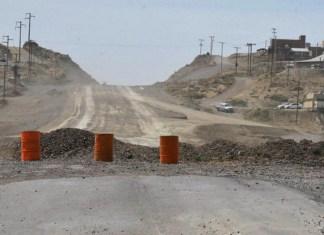 Inauguraron 700 metros de ruta en Caleta Olivia, pero nadie recordó que es parte de las obras que Lázaro Báez cobró dos veces y nunca hizo
