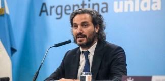 El jefe de gabinete Santiago Cafiero -