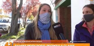 Vuelta a clases presenciales: pedido de padres del Chubut
