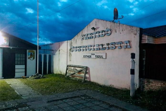 Arde el PJ en Tierra del Fuego