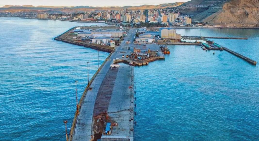 El puerto de Comodoro Rivadavia