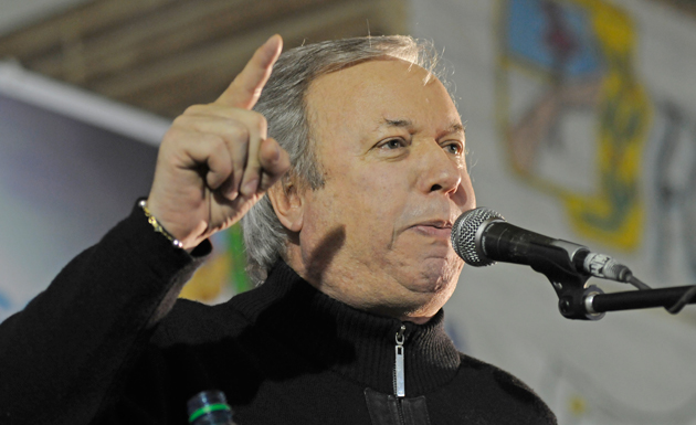 El Gobernador de Santa Cruz Daniel Peralta - Foto: OPI Santa Cruz/Francisco Muñoz