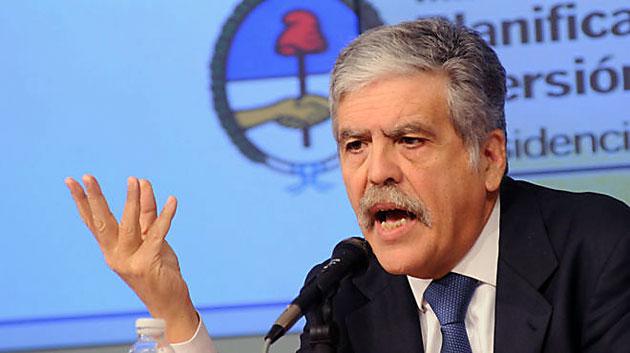 El Ministro de Planificación Federal Julio Miguel De Vido - Foto: Web