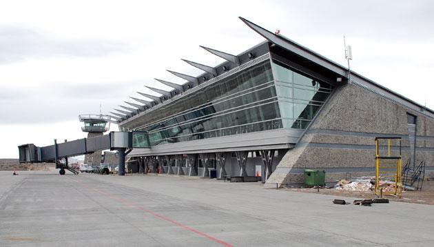 El aeropuerto de El Calafate - Foto: OPI Santa Cruz/Francisco Muñoz
