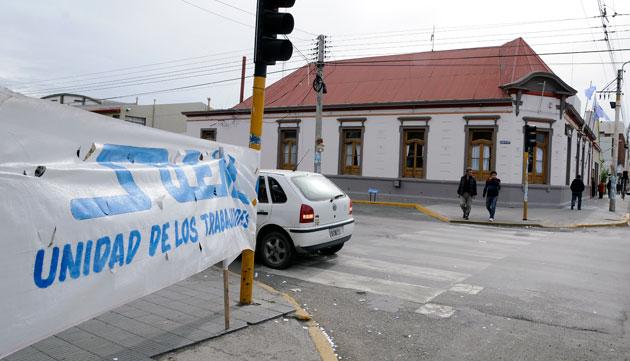 El frente de la Municipalidad de Río Gallegos - Foto: OPI Santa Cruz/Francisco Muñoz