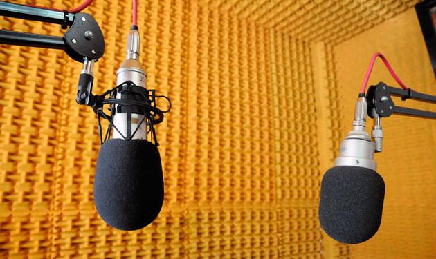 Los estudios de Radio News en Río Gallegos - Foto: OPI Santa Cruz/Francisco Muñoz