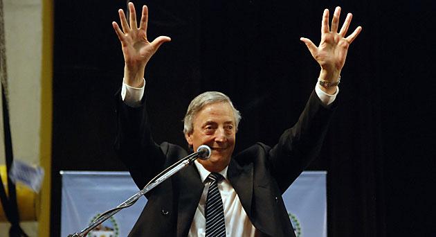 El ex presidente de la nación Néstor Kirchner - Foto: OPI Santa Cruz/Francisco Muñoz