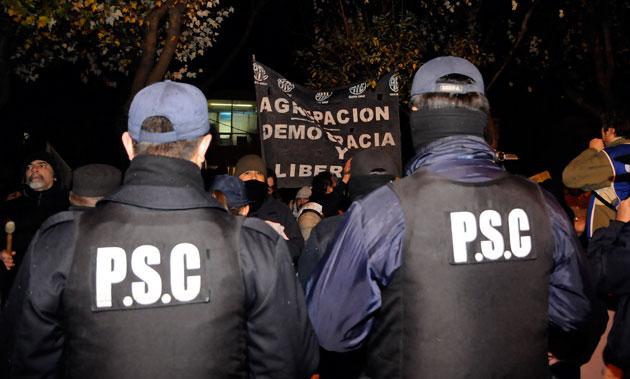 La policía de la provincia de Santa Cruz - Foto: OPI Santa Cruz/Francisco Muñoz