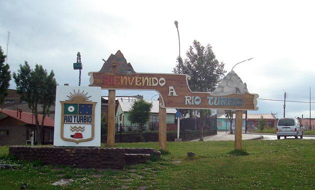 El acceso a Río Turbio - Foto: OPI Santa Cruz/Francisco Muñoz