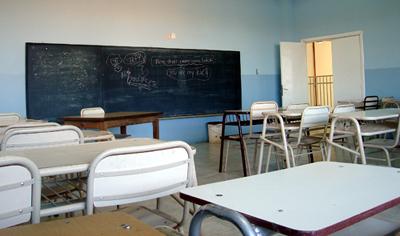 Jueves 30 paro docente en Santa Cruz