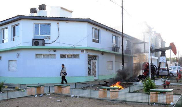 El Sindicato de Petroleros en Caleta Olivia - Foto de archivo: OPI Santa Cruz/Daniel Bustos