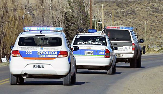 Policía de Chubut - Foto: web