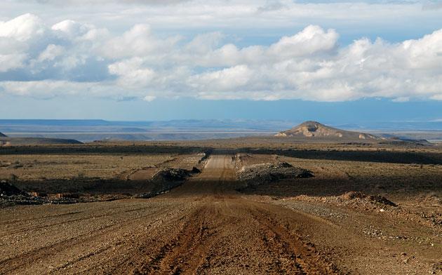 Las tierras en la Patagonia – Foto: OPI Santa Cruz/Francisco Muñoz