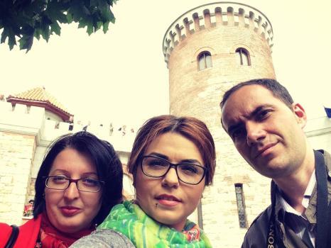 Castel Tepes selfie