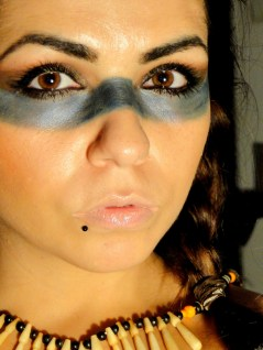 american indian makeup by G.
