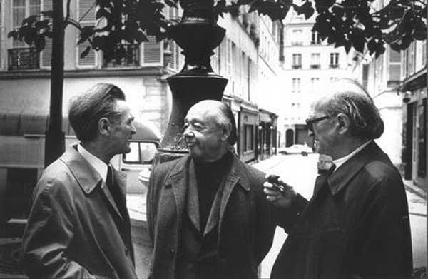 Emil Cioran, Eugen Ionescu și Mircea Eliade (webcultura.ro)