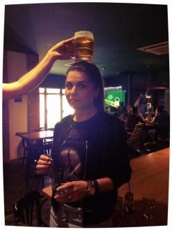 After Party: Când ai băutură să-ți pui și-n cap.. :))