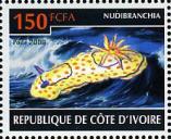 stamp Goniobranchus annulatus - Côte d'Ivoire