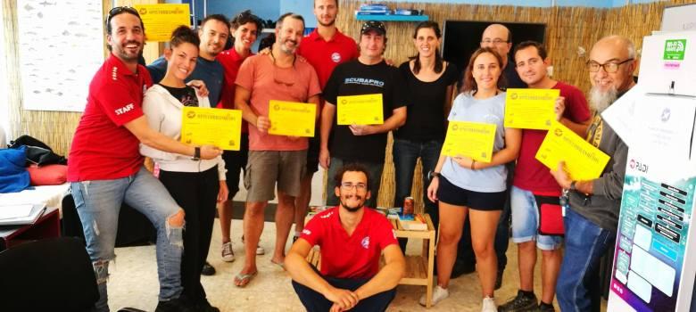 Curso de Opistobranquios en Roses Sub (Roses, Girona)