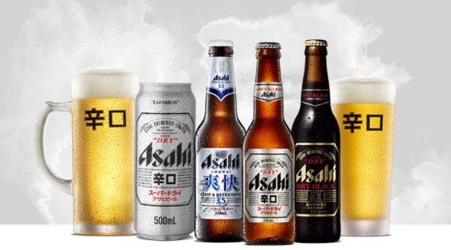 Asahi, japonské pivo, Super Dry
