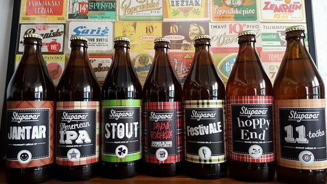Stupavar, stupavské pivo, Jantar, FestivALE, Hoppy End