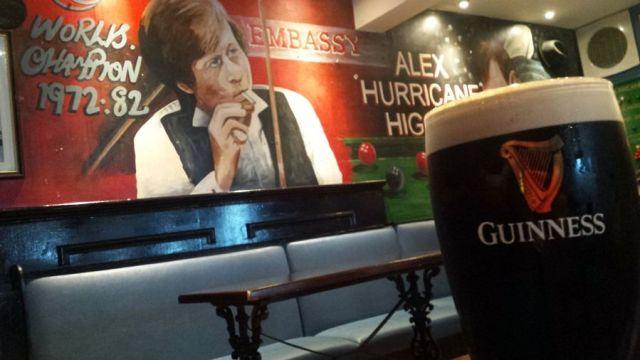 Guinness, Írsko, Belfast, podnik