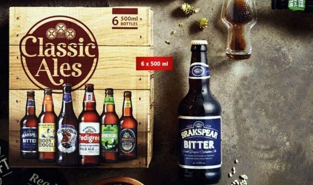 Lidl, Classic Ales, kufrík, pivo