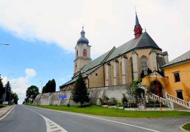 Spiš, Spišské Vlachy, kostol, Wikimedia