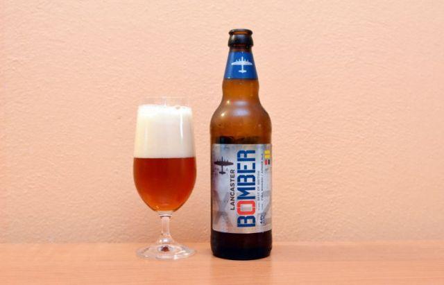 Bomber, Marston's, Amber Ale, anglické pivo