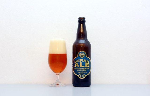 Box Steam Brewery, Derail Ale, ejl, ESB