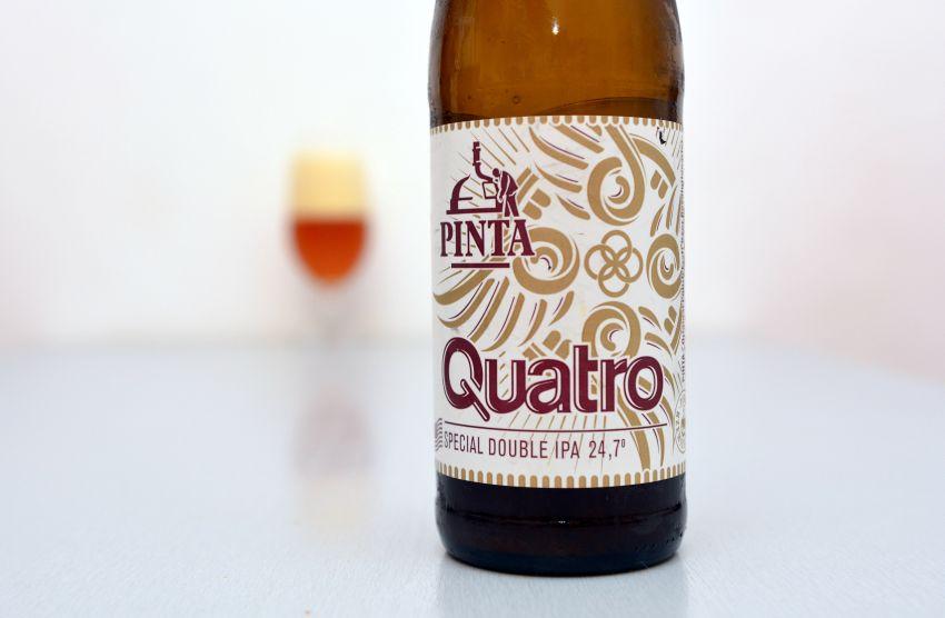 Hutná, pekne vyskladaná alahodná IPA (Quatro)