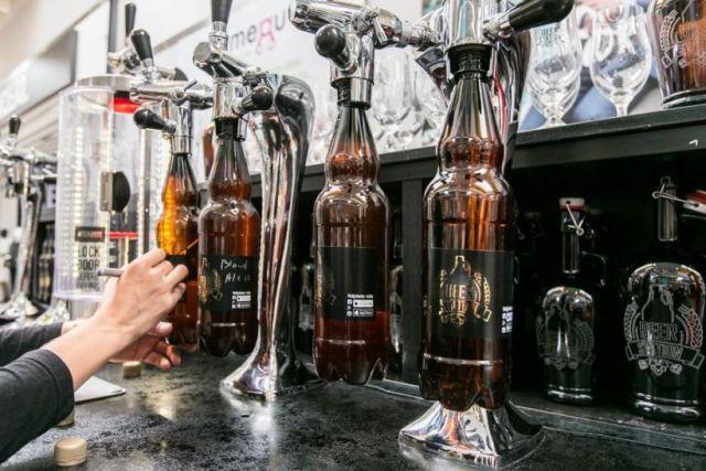 Beer Station, pivo zadarmo, Wywar, pivná benzínka