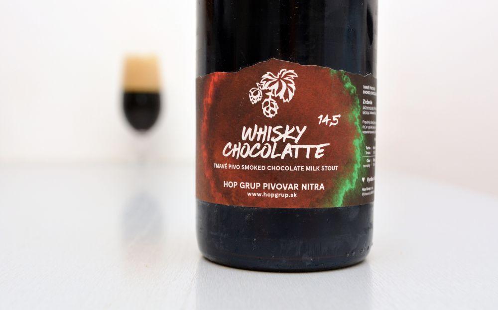 Keď názov dokonale vystihuje obsah fľaše (Whisky Chocolatte)