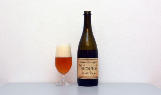 Champale Brut IPA, Brut IPA, Dejf, test piva, recenzia, české pivo
