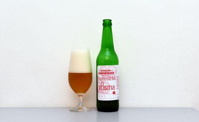 Kamenická v8sma, Kamenice nad Lipou, výčapné pivo, slabé pivo, test, recenzia,