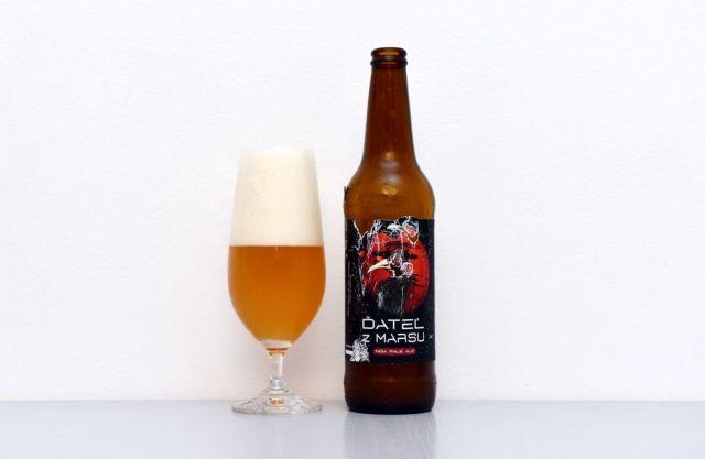 Ďateľ z Marsu, IPA, India Pale Ale, Čierny kameň, pivný návrat, recenzia, test piva