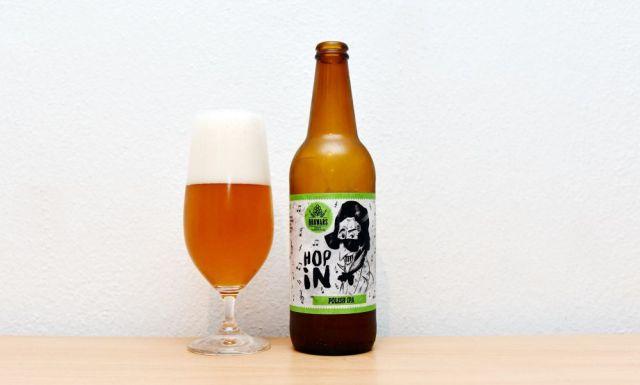 Hop In, Browars, poľský pivovar, India Pale Ale, IPA, recenzia, test