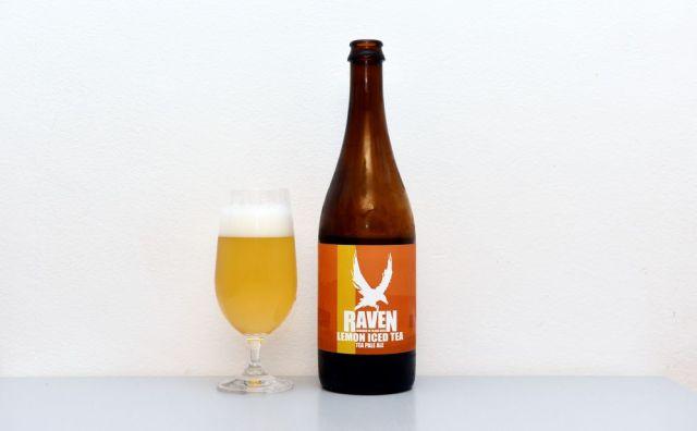 Raven, Lemon Iced Tea, APA, American Pale Ale, test, recenzia, české pivo