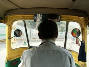 Indien: Tuctuc fahren