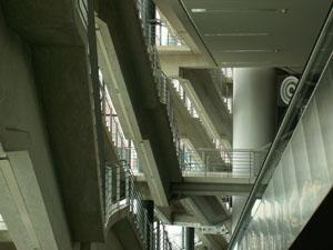 Treppen in der LANXESS Arena