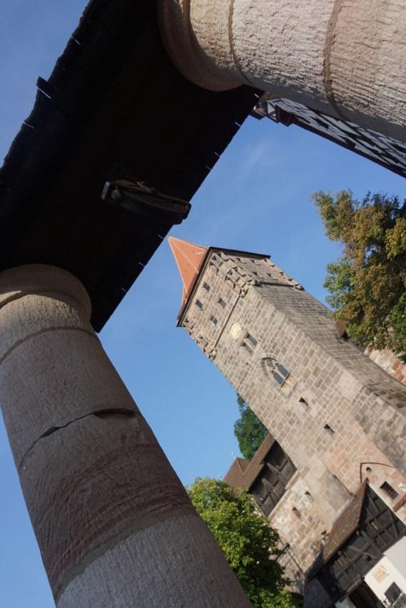 Stadtmauer an der Kaiserburg