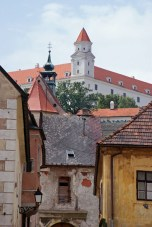 Die Burg über der Stadt