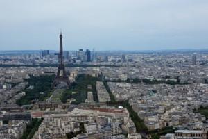 Blick vom Montparnasse