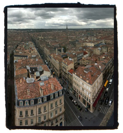 Bordeaux von oben