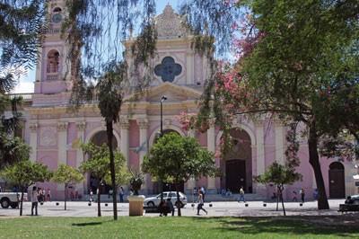 Stadt im Kolonialstil: Salta