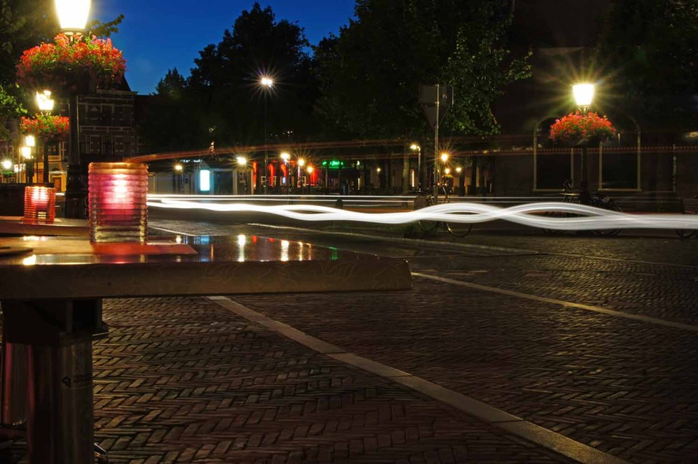 Utrecht mit Lichtquellen